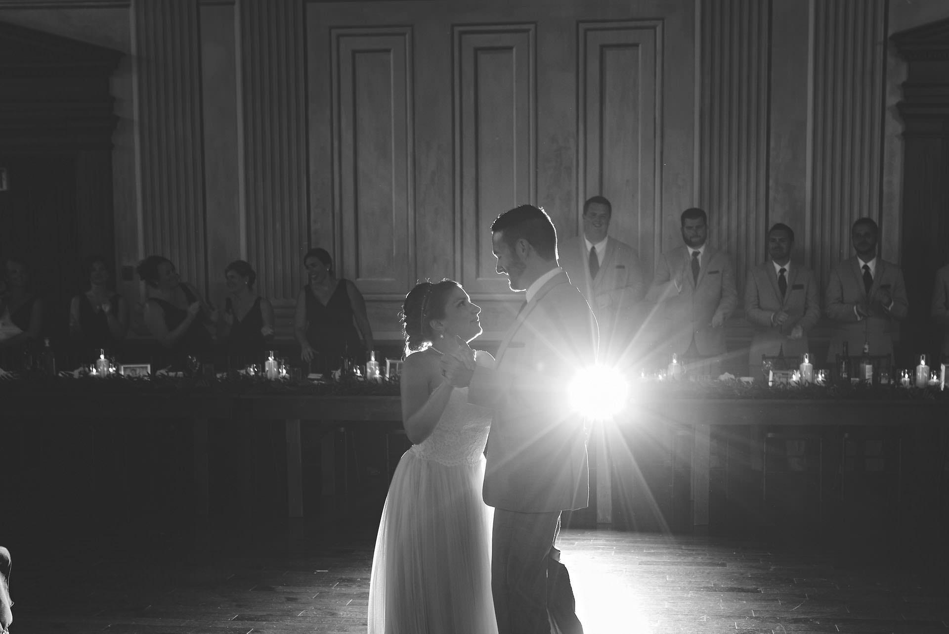 first dance victoria hall cobourg wedding