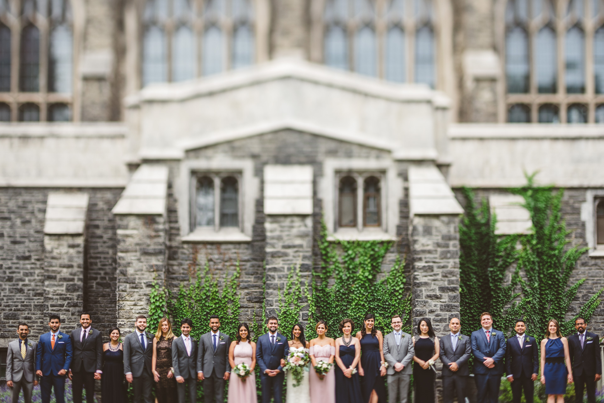 epic wedding photo of wedding party