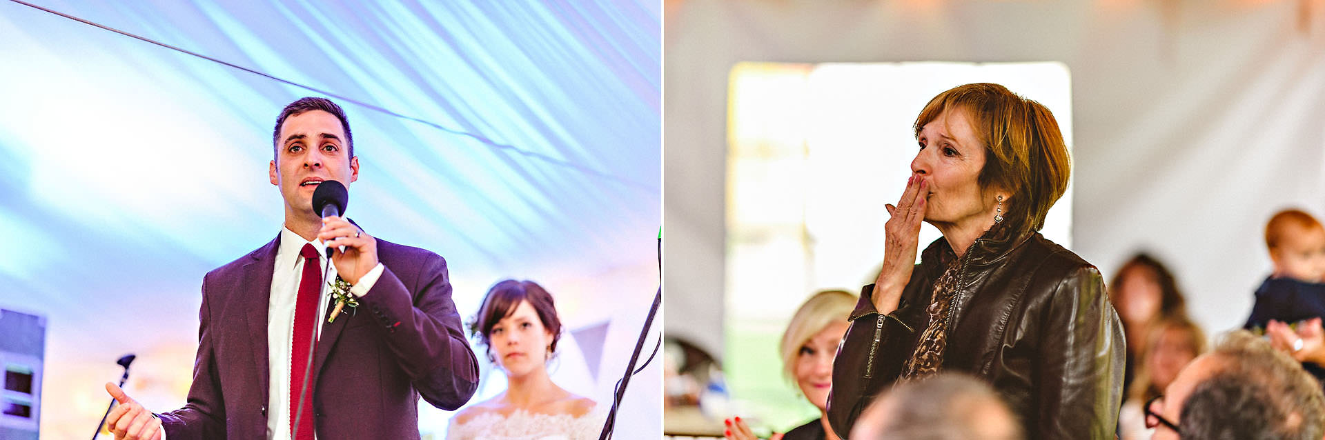 wedding speeches crying groom