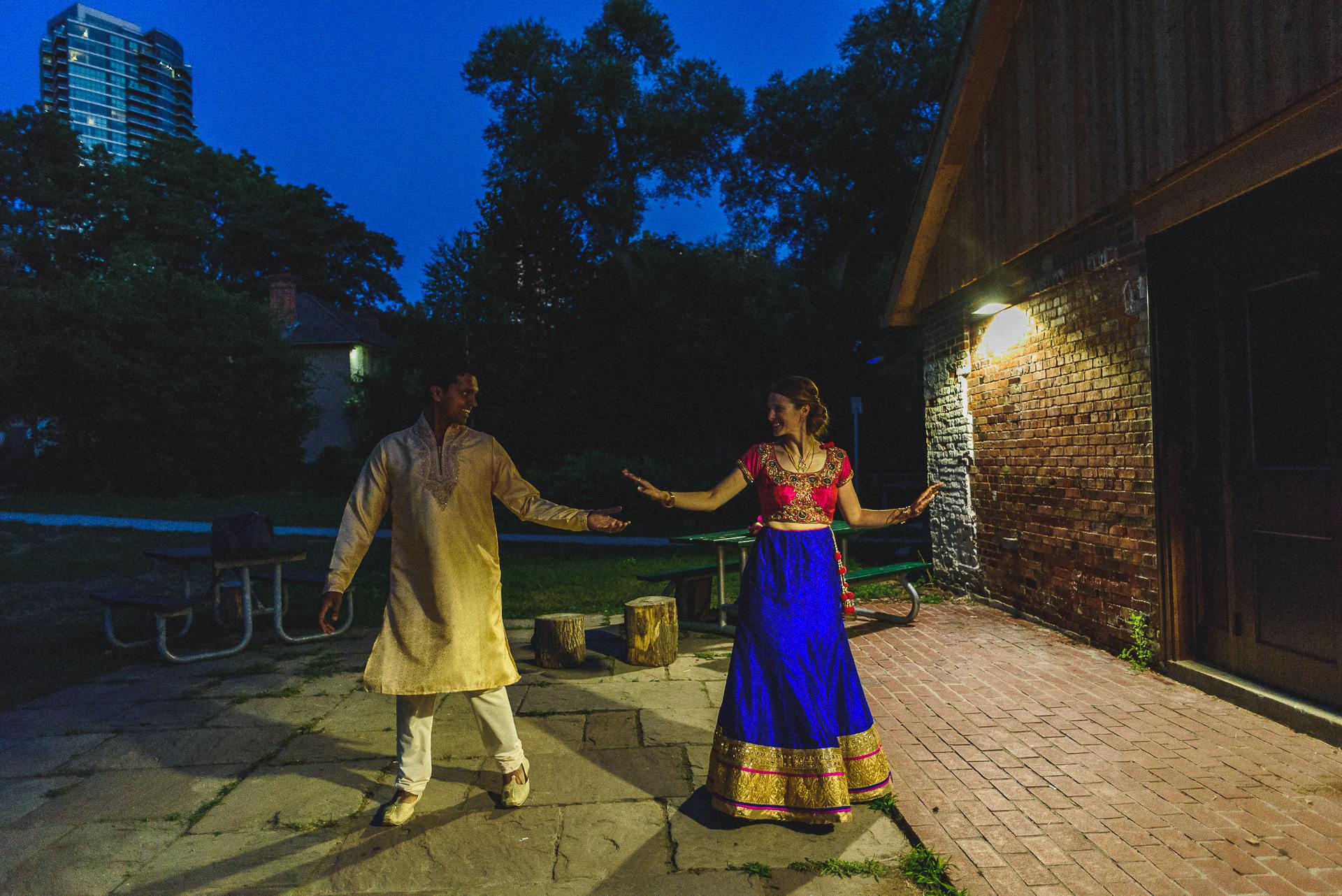 indian todmorden mills wedding
