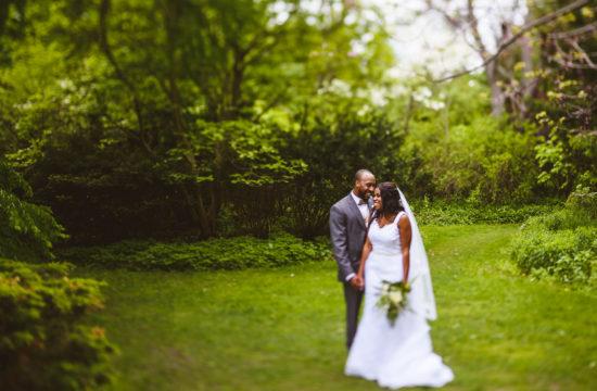 wedding photography at alex muir memorial gardens