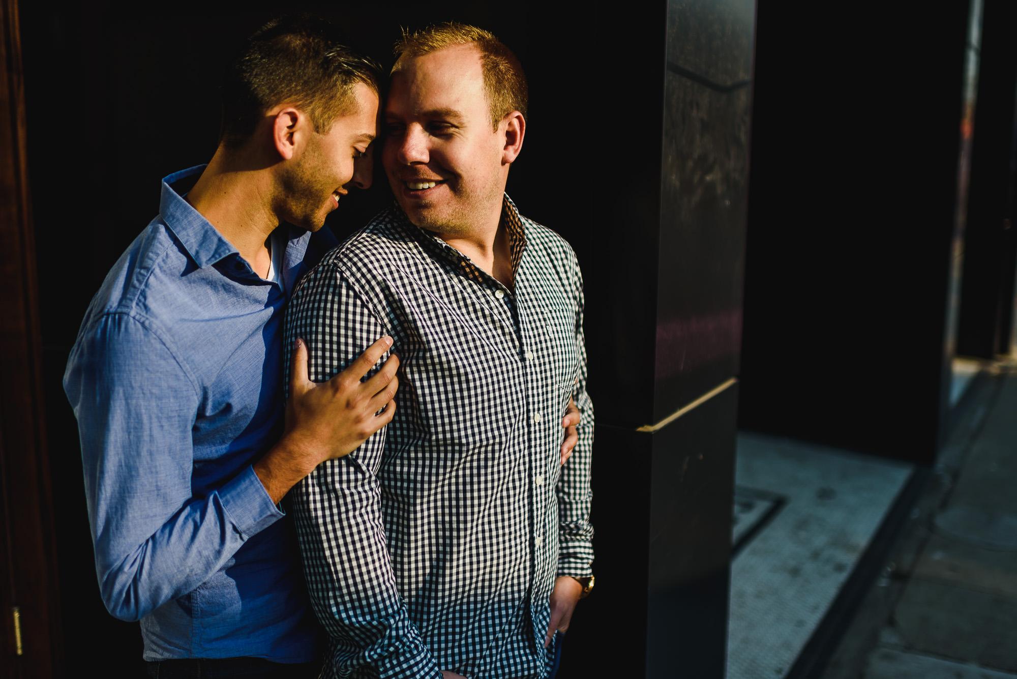 Urban Same Sex Engagement Session Hamilton