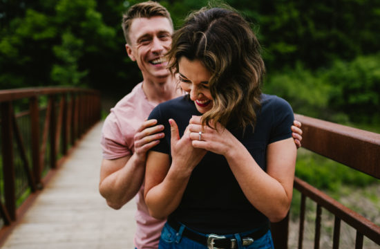 Romantic Dundas Engagement Session