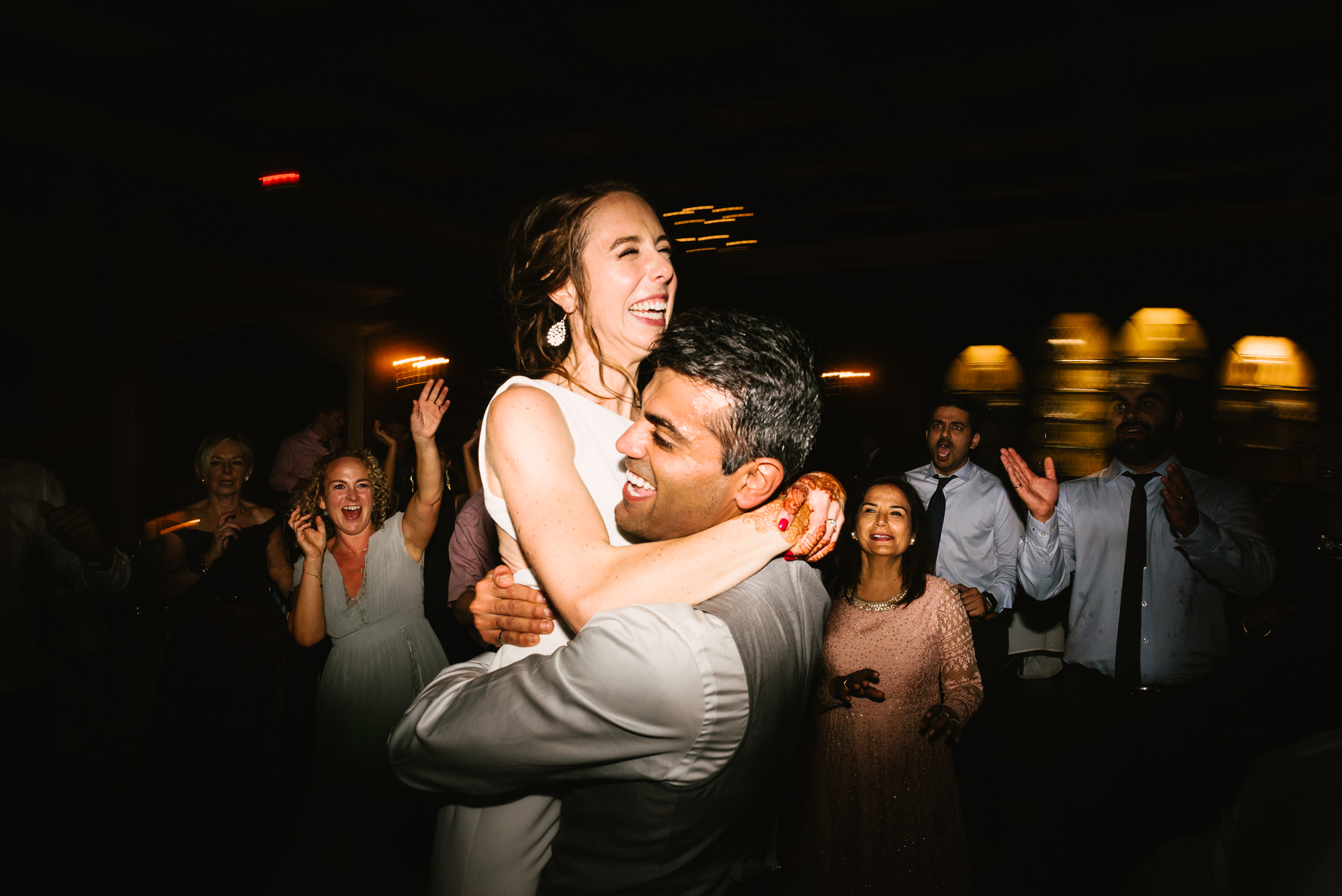 Indian Irish Old Mill Toronto Wedding 122